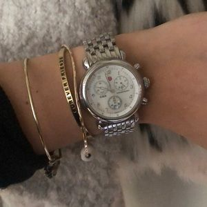 MICHELE 30mm Stainless Steel
